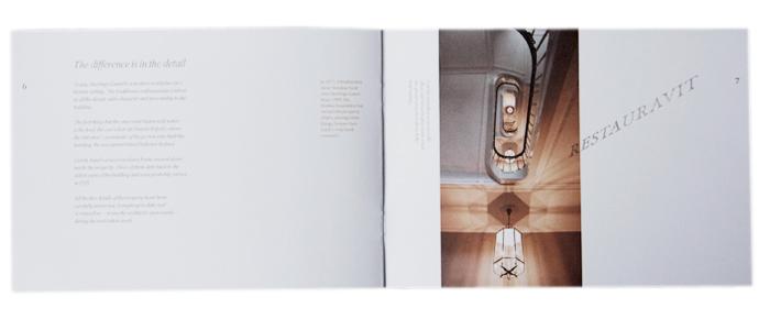 Heeringsgaard, Nordea Fonden, Christina Bruun Olsson, brochure, collage