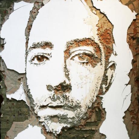 Relief portrætter af Alexandre Farto