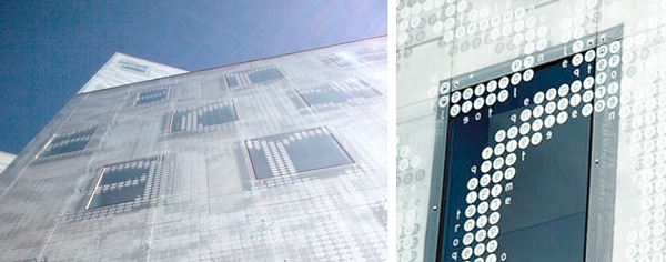 CF Møller arkitektur facade