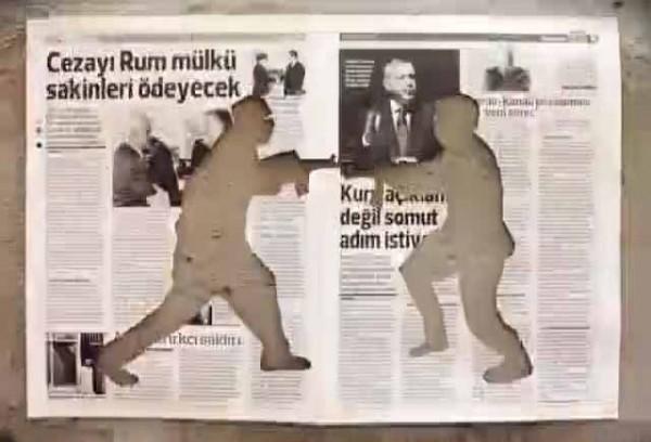 sokak savasa karsi avis soldater