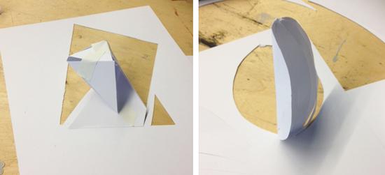 Papirskitser af Christina Bruun Olsson