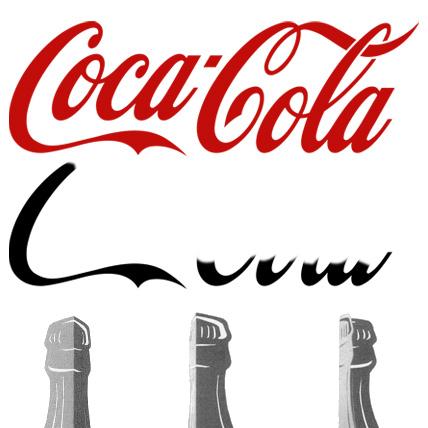 En dansk CocaCola-flaske