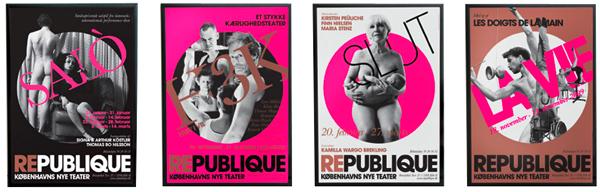 Scandinavian DesignLab Republique Teater Plakat