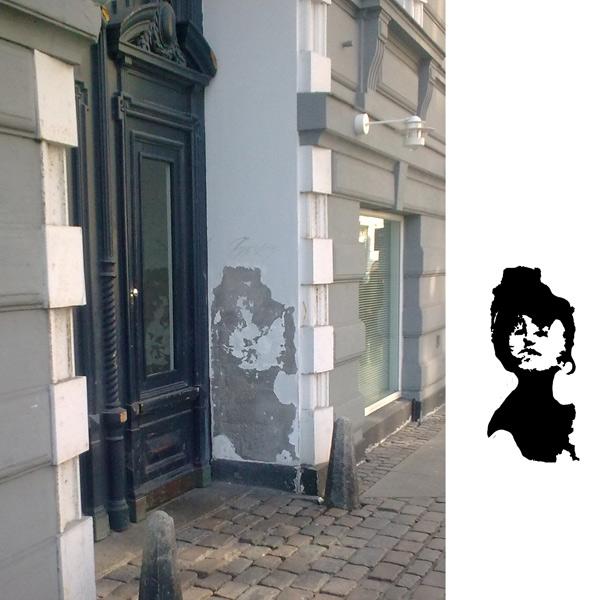 Christina Bruun Olsson illustration streetart