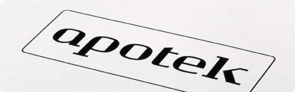 Kontrapunkt apotek typografi