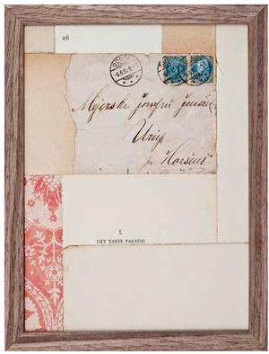 Jill Ann Press Remixed Letters Collage