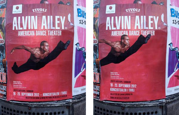 Alvin Ailey, Tivoli, Christina Bruun Olsson, layout, dance