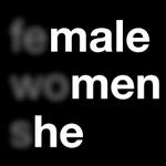Plakat for ligestilling